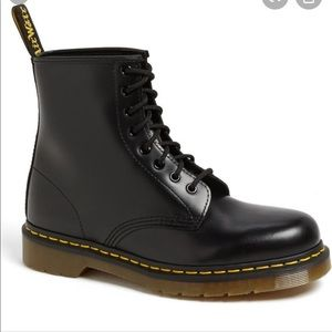 Dr. Martens 1460 Smooth Leather Boots Black 9